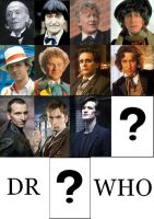 The eleven faces of the Doctor by Salvini