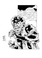 MA Series - The Wolfman - Ink by The-Real-NComics