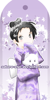 Bookmark2: Japanese Girl by Sakura-Star