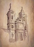 Agria Minorita Church by TheTundraGhost