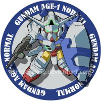 Gundam Age by darksonwong