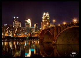 Minneapolis Skyline by Murphoto