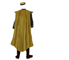 Kingdom Clothing Stock #28 kings gold cape costume by madetobeunique