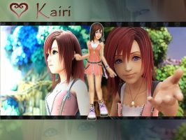 kingdom hearts 2 kairi by LumenArtist