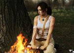 Tomb Raider: Reborn fire by ezysummers
