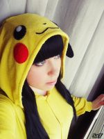 Cosplay Pikachu 5 by SaFHina