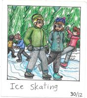Ice Skating by TheCreator2009