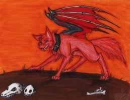 Resident of Hell by Wolf-Spirit14