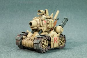 Non-scale Metal Slug Tank by fritzykarl