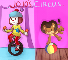 Jojo's Circus by chibitracydoodles