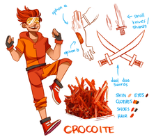 Steven Universe OC [CROCOITE] by reezetto