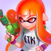Inkling Girl by KR0NPR1NZ