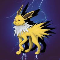 Day One - Favorite Pokemon Jolteon by x-SpookyBoo-x