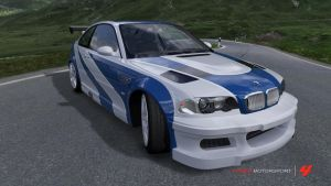 NFS Most Wanted BMW M3 in FM4 by Crystal-Eclair