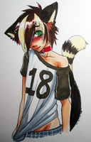 Neko Yuri Commission by ghostblanketboy