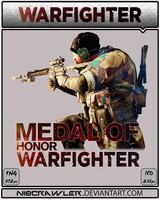 Medal Of Honor Warfighter Icon by Ni8crawler
