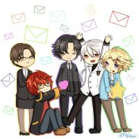 Chibi Mystic Messenger - Ver. 2 by Meilyna