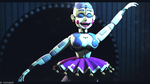 (SFM FNAF)Ballora is ready to show by MCMARSIK