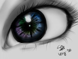 Sketch of an eye. by Lexy-SO