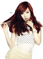 PNG : SNSD Tiffany by chazzief