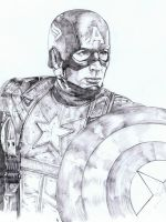 Captain America WIP by SammyG23