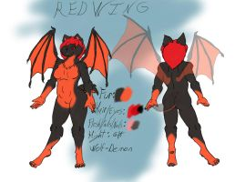 Red Wing Ref by Orsonfoe