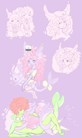 .:Doodle Page: Persephone:. by Pieology