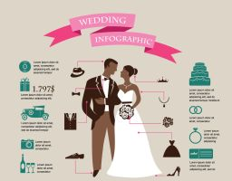 Wedding infographic design by DarkStaLkeRR