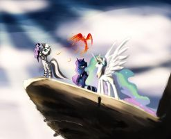 Pride Rock by SpaceHunt