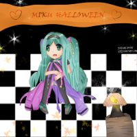 Miku Halloween by Mikriluna
