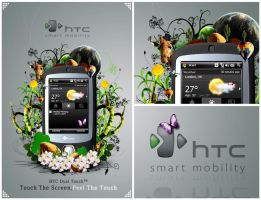 HTC Dual Touch by clasixart