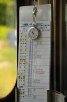On Schedule: Fujikyu Train by Otone