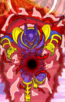 Majin Baby Janemba With Ki Ball by DBZ2010