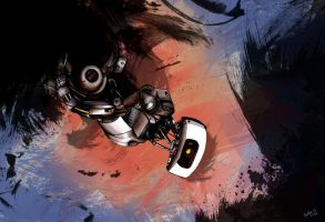 You monster /GLaDOS by BeaMaia