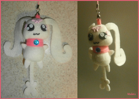 Pretty Cure Choppy Keychain by Monkiki62