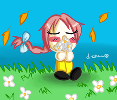 Prize- BublaSarah: Stop and smell the flowers by Warped-Dragonfly