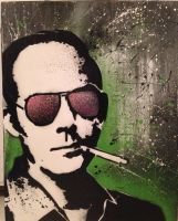 Hunter s Thompson  by denny16acres