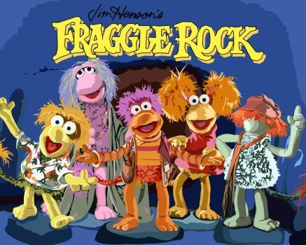Fraggle Rock Group Vector by tjjwelch