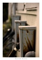 Rusted Boxes by woobiee