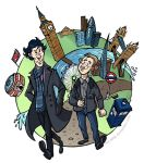 Walking With Sherlock by Oly-RRR