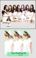 Pack PNG #74 #75: Naeun and HyeRi by jimikwon2518