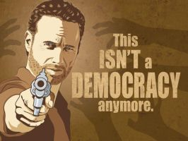 The Walking Dead - Ricktatorship by martianpictures