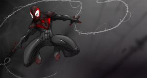 Ultimate-Spiderman-wallpaper by RDOWN
