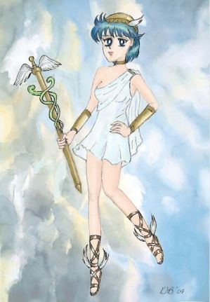 Mercury as Hermes