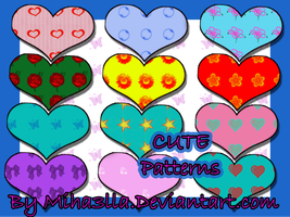 Cute patterns by Miha3lla by Miha3lla