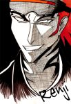 Renji of Bleach by LycanLover