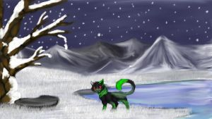 .:Commission for Tayr98: Frozen wasteland:. by matrix9000