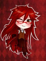Grell chibi by Kuriuss