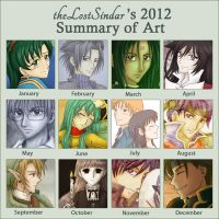 2012 Art Summary by theLostSindar