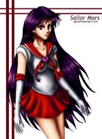 Sailor Mars 2005 by GawainesAngel